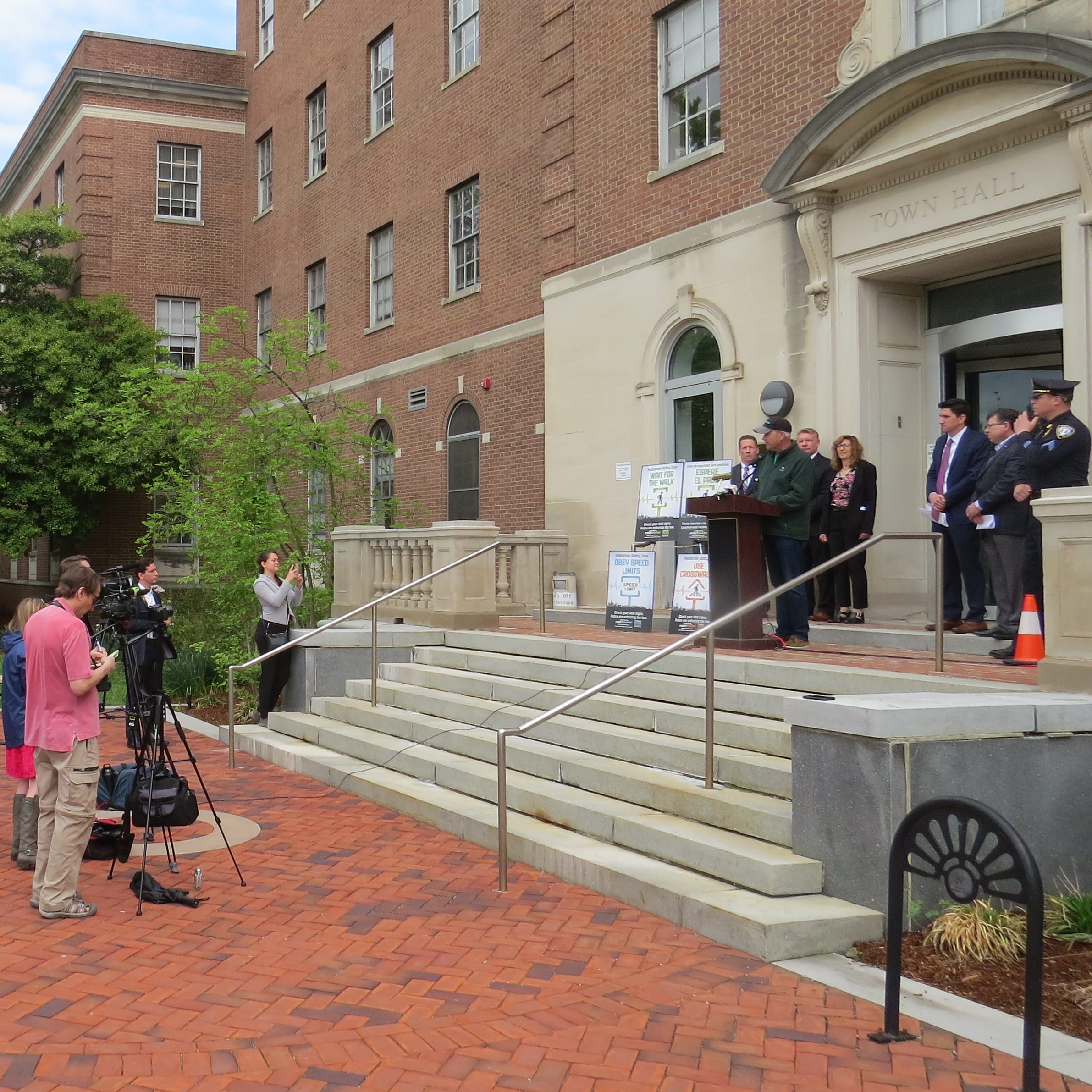 Morristown launches pedestrian safety initiative