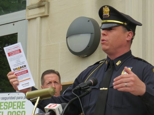 Morristown Police Department's Sgt. Brian LaBarre said the initiative will seek to strike a balance between pedestrians walking through town and effectively moving vehicle traffic alongside them.