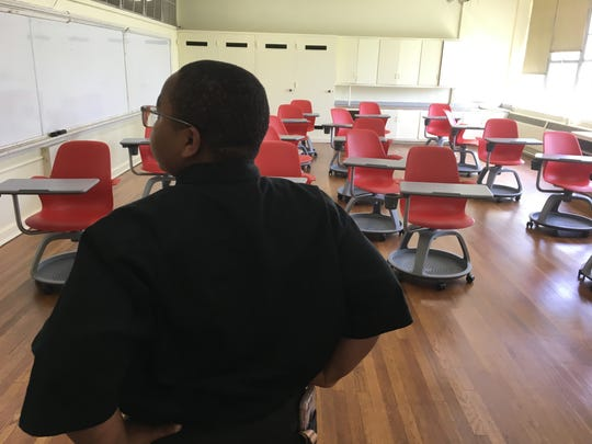Donated furniture fill the new classrooms inside Youth Employment Service.