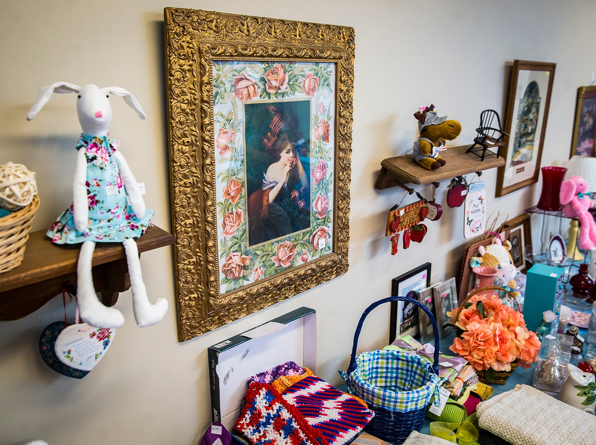 Silver Birch resident Kay Butler created and manages the Silver Boutique, a thrift and craft store, with help from her niece Susie Cooper.