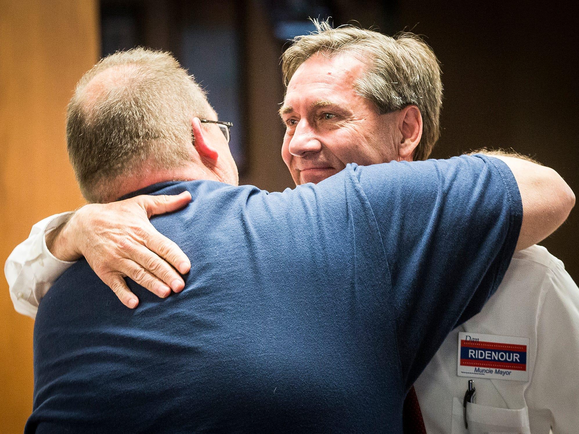Republicans nominated mayoral candidate Dan Ridenour Tuesday. Nate Jones and Tom Bracken were also seeking nomination.