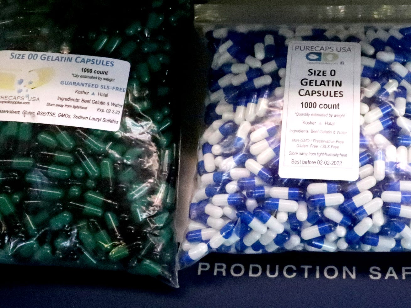 Fake capsules are located at the CVS/TRC-Smyrna Mock Store so students can learn to count them during the Certified Pharmacy Technician program at the Tennessee Rehabilitation Center, at the Tennessee Rehabilitation Center, in Smyrna.