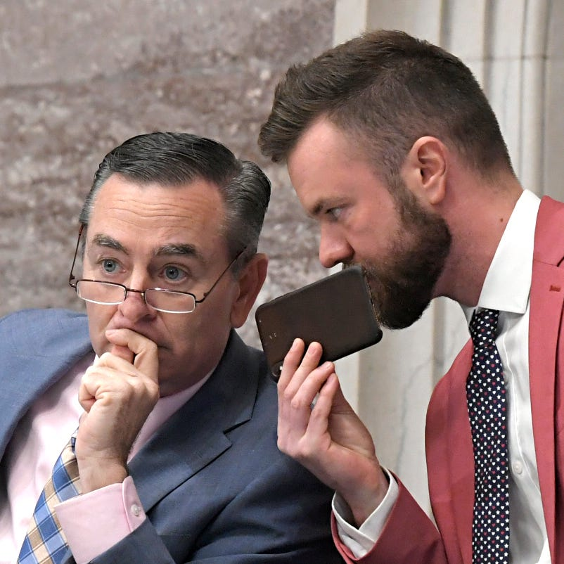 Some Republicans call for Speaker Casada to resign amid sext scandal involving his office