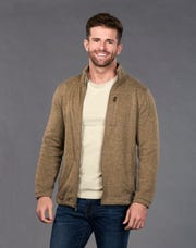 """A portrait of Jed Wyatt, 25, of Nashville, a contestant on season 15 of ABC reality  show """"The Bachelorette."""""""