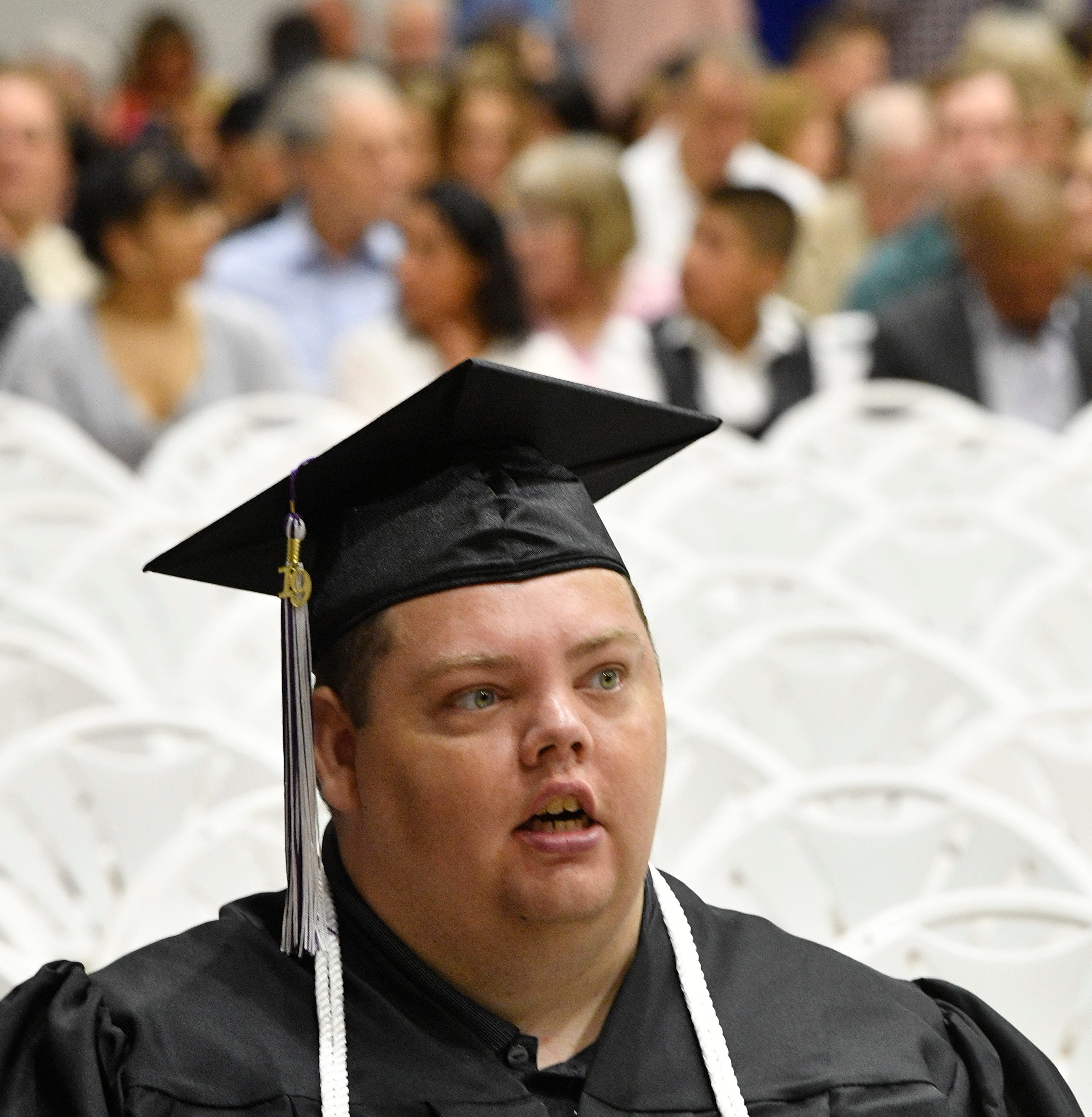 Trevecca student with autism graduates after 12 years, a special perseverance award in his honor