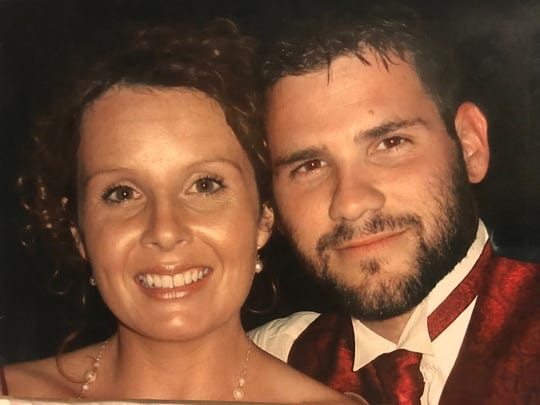Mollie and Jason Sheppard in 2007 in New Orleans, four years after they got married and shortly before she got pregnant for the first time