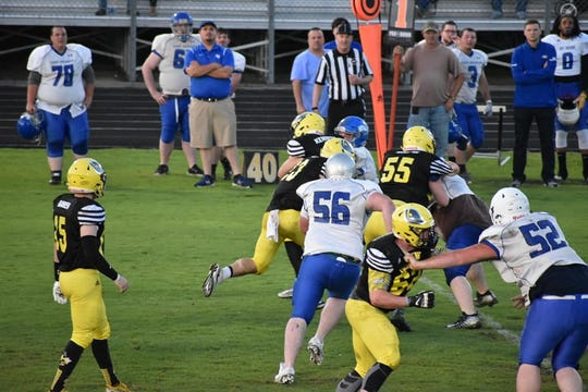 Second Annual Alumni Football Game between Fairview Yellow Jackets and East Hickman Eagles, May 5, 2019.
