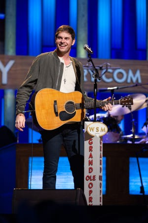 Matt Stell made his Grand Ole Opry debut April 27.