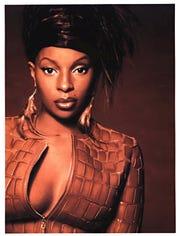 Hip-hop soul queen Mary J. Blige