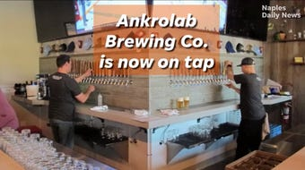 The new local microbrewery is on Bayshore Drive in East Naples.