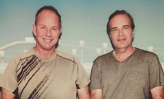 Grant Morse, left, and his husband Sam Ballachino.