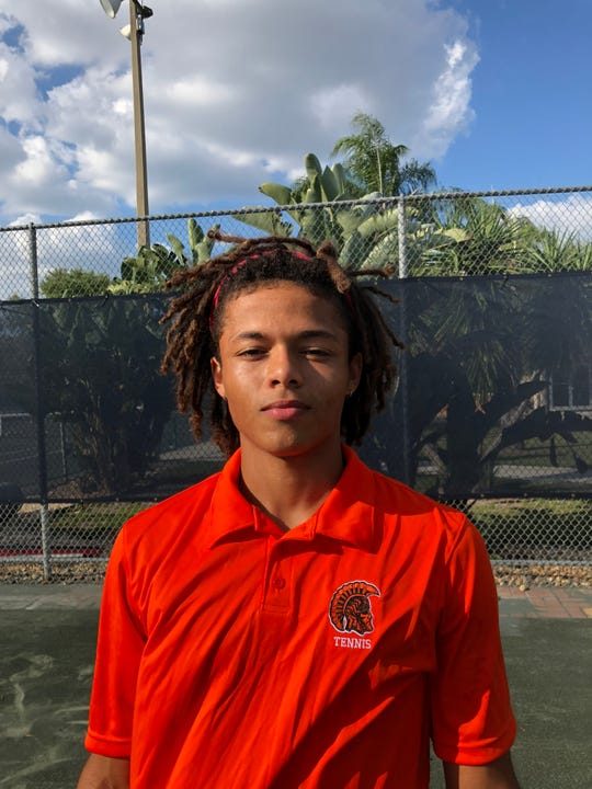 Lely tennis player Diego Britt-Alvarez went 16-2 at No. 1 singles and advanced to the Class 2A state semifinals as a junior this year.