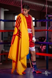 Las Cruces Boxer Ariana Carrasco earned an invite to represent the U.S. at the Jr. Olympics in Poland.