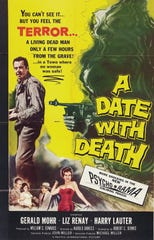 "The 1959 promotional poster for ""A Date with Death"" was dramatic, but the title has been used many times since that production for everything from the opioid crisis to war documentaries."