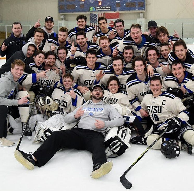 Livonia, Plymouth, Westland natives reach D-3 hockey finals with Grand Valley State