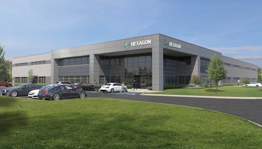 Hexagon is planning a new facility in Novi.