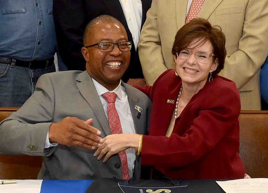 The St. Landry Parish School Board partners with South Louisiana Community College