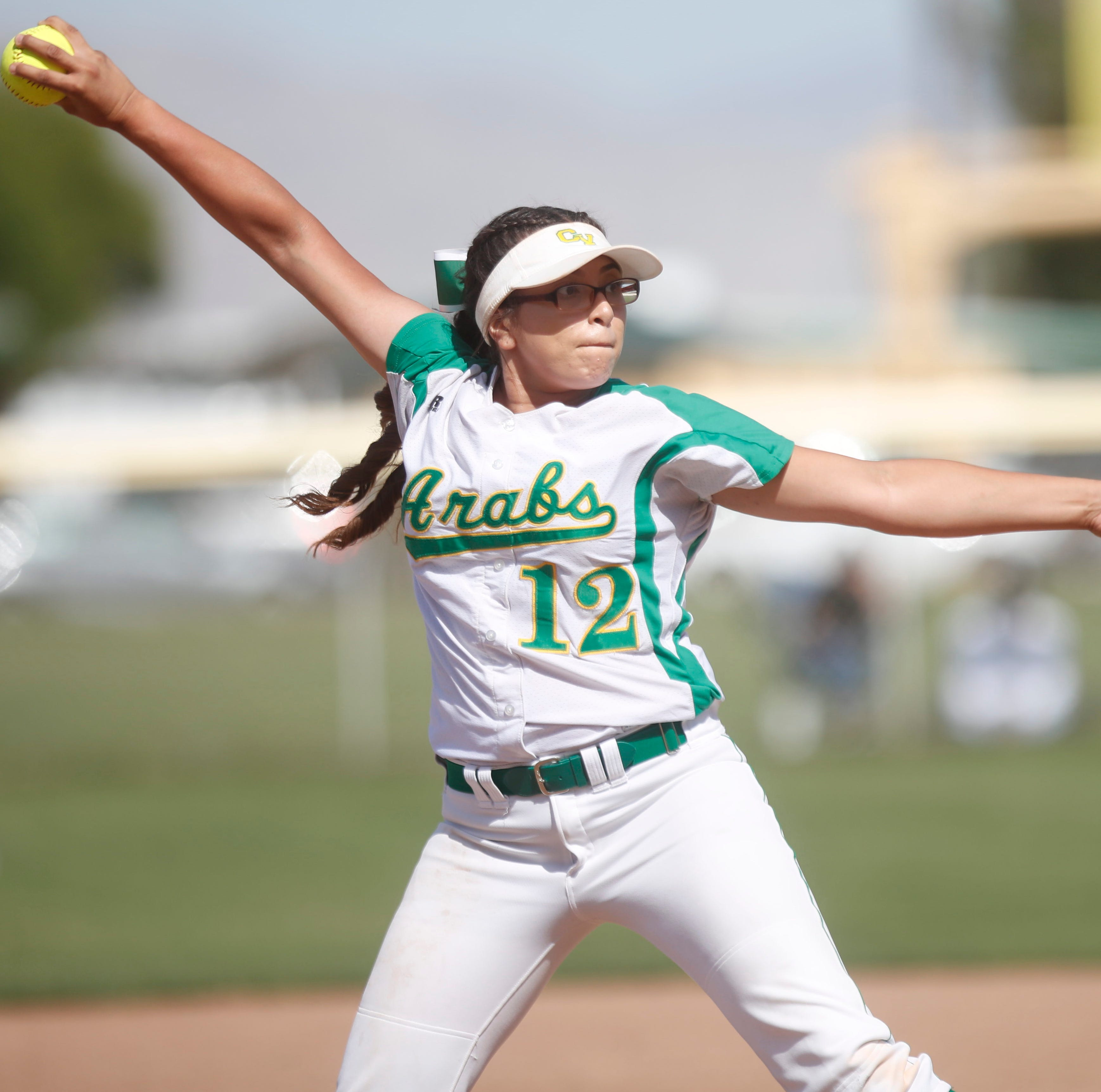 Arabs roll to third dominant CIF softball playoff victory. How are they doing it?