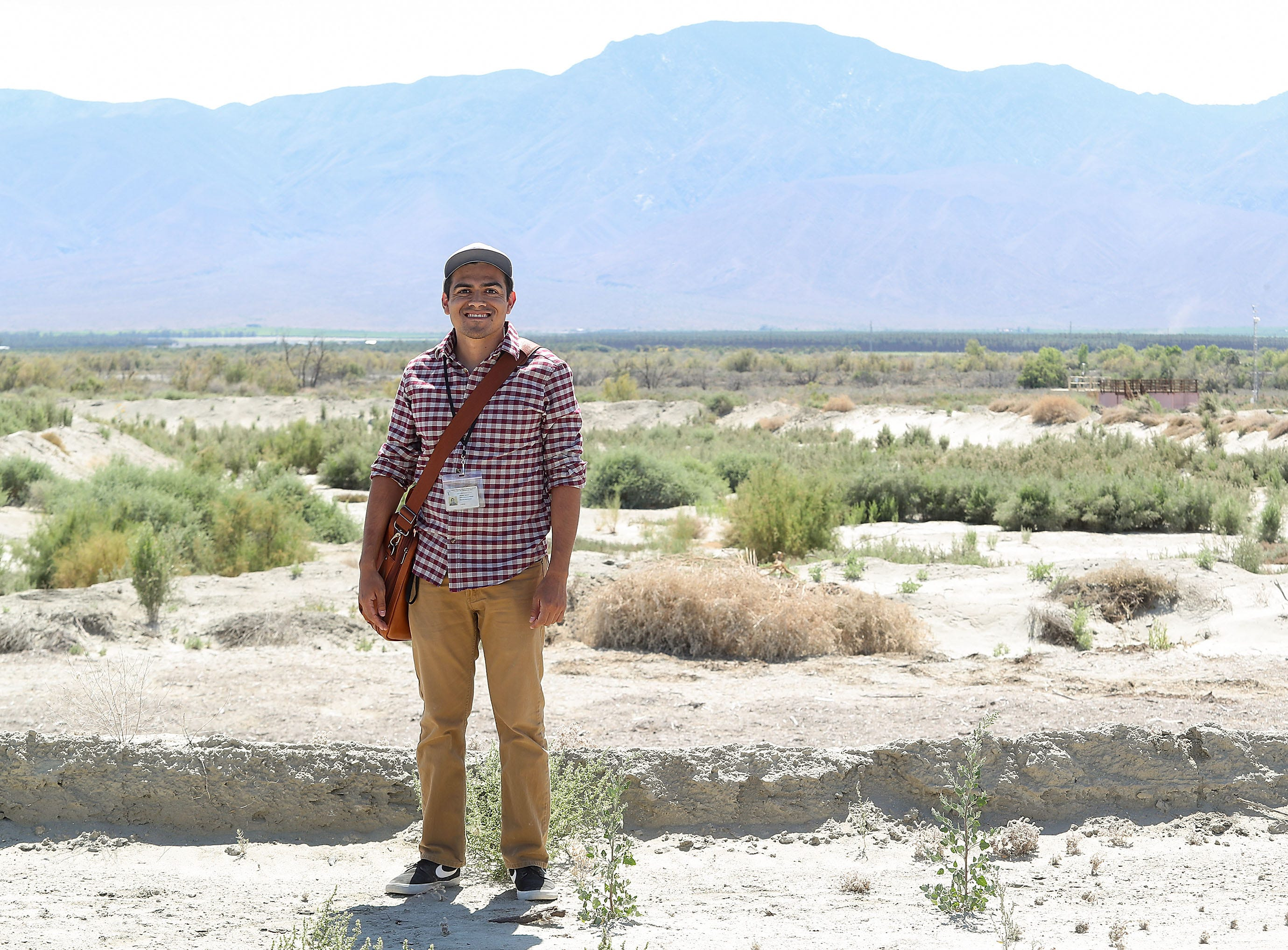 Tony Quiroz is the Natural Resources Manager for the Torres-Martinez Wetlands at the Salton Sea, April 30, 2019.
