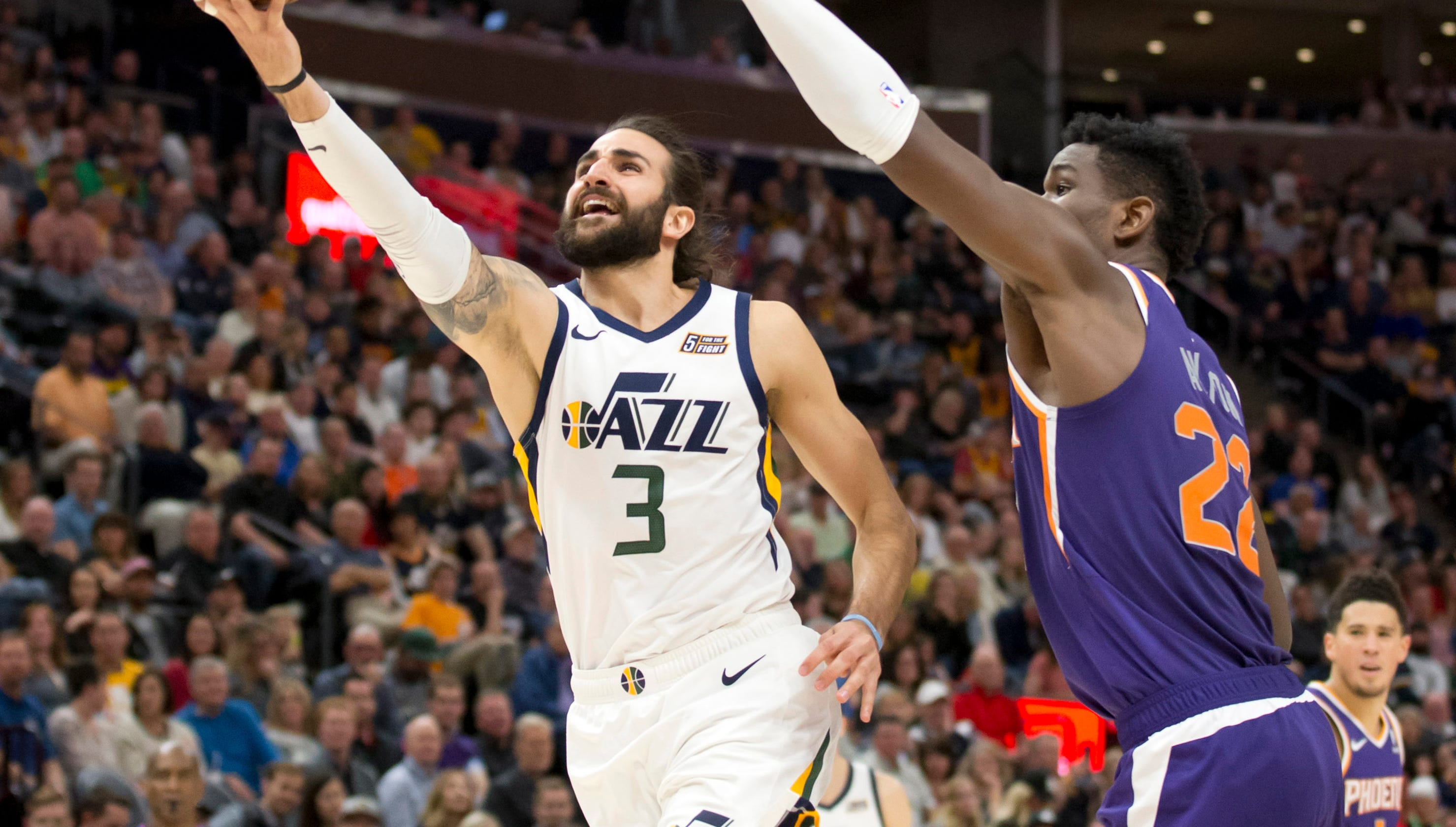 0d6d0642c2af Ricky Rubio NBA free agency  Phoenix Suns option for Utah Jazz guard