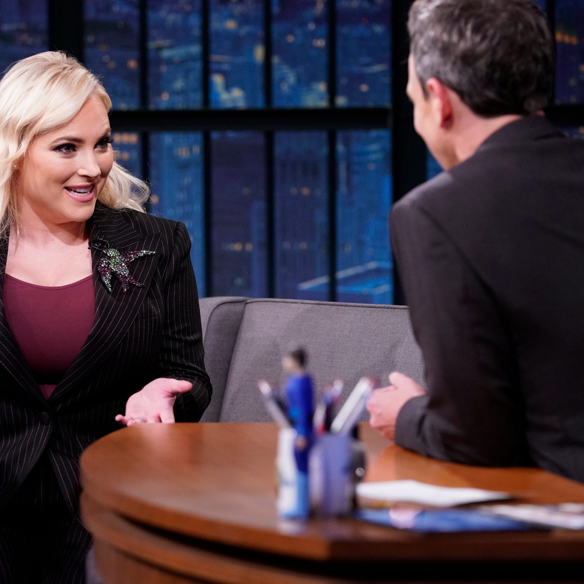 Meghan McCain's husband apologizes for homophobic 'rage tweeting' against Seth Meyers