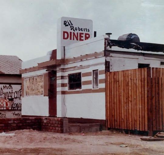 Lil Robert's Diner, 1982.