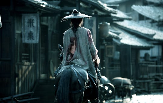 Review: Yimou Zhang's 'Shadow' is terrific, after starting