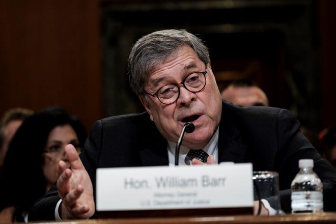 """El fiscal general de Estados Unidos, William Barr, anunció este miércoles que ha formado un equipo para evaluar si la investigación de la llamada trama rusa pudo suponer un """"abuso de autoridad"""" por parte del Gobierno contra el equipo electoral del presidente, Donald Trump."""