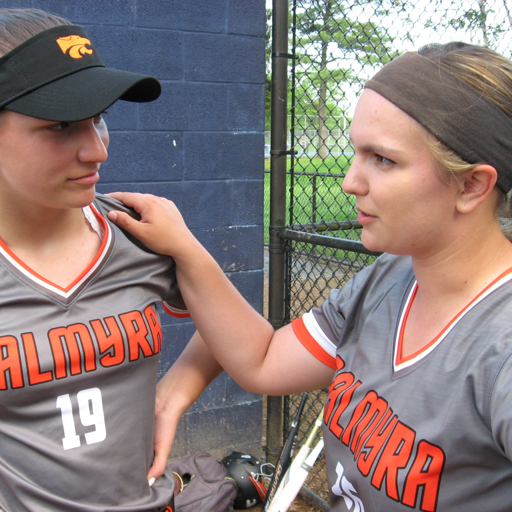 Krahling sisters, Boyer key to Palmyra softball's division title run