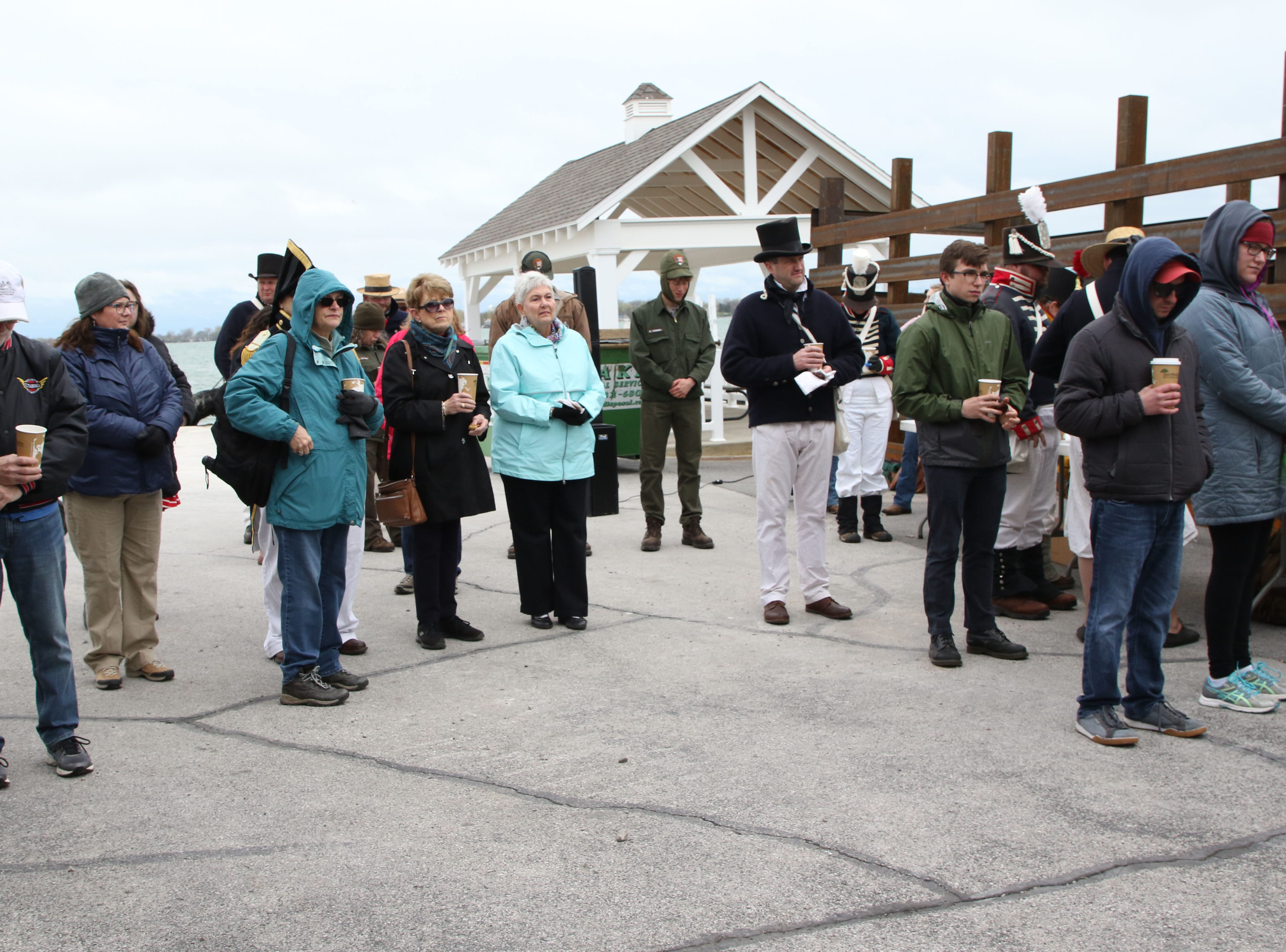 Clergy from three South Bass Island churches performed a Blessing of the Fleet ceremony at Fox's Dock at Put-in-Bay on Tuesday, praying for safety of the vessels that serve the Lake Erie islands.