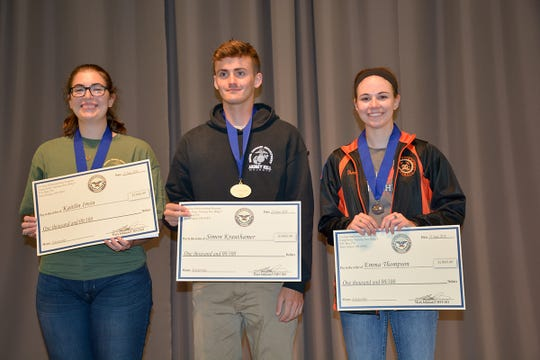 Top seniors in the CMP Regional Matches are also awarded CMP Scholarships.