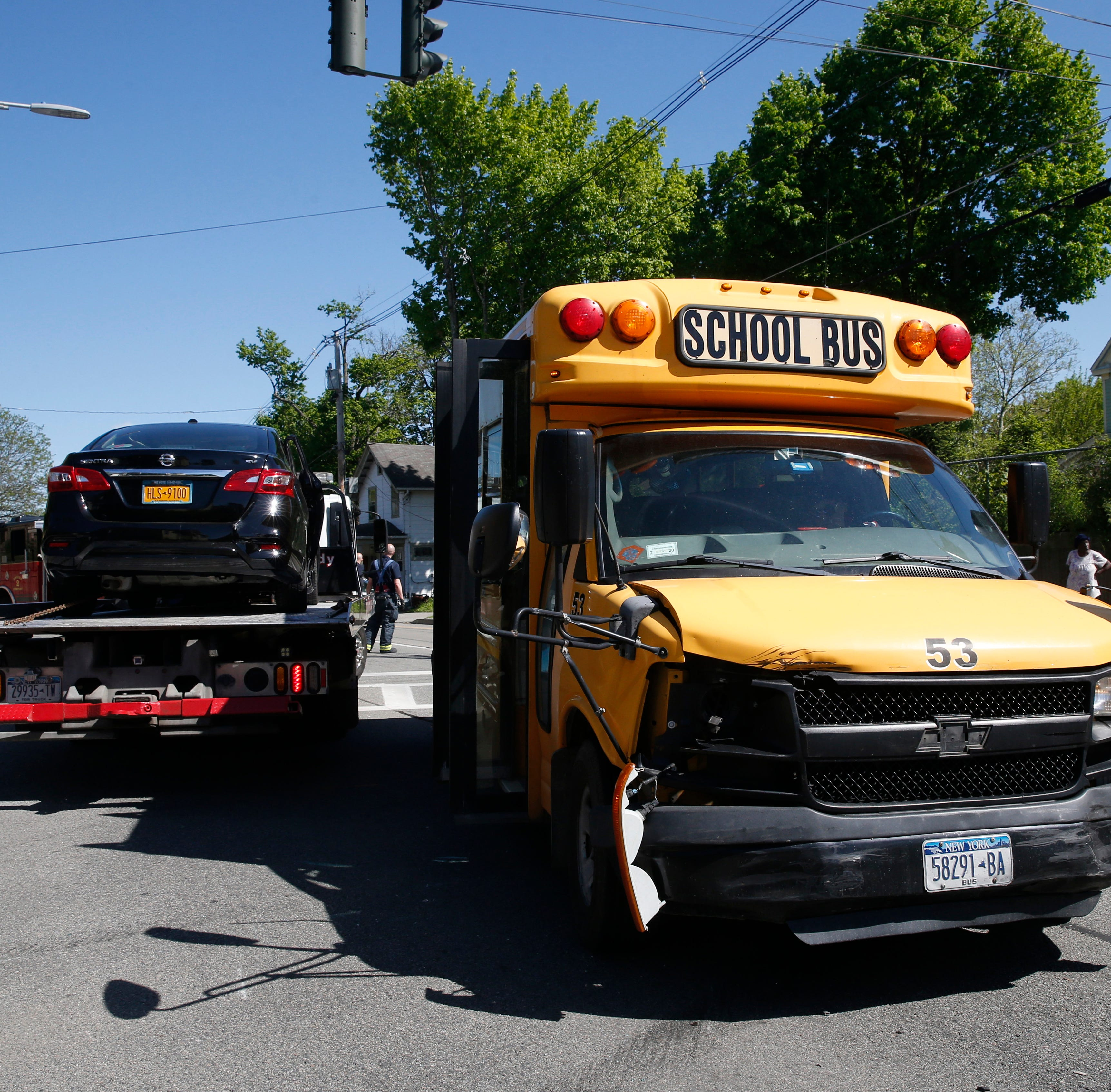 Crash involving school bus temporarily closes arterial in Poughkeepsie