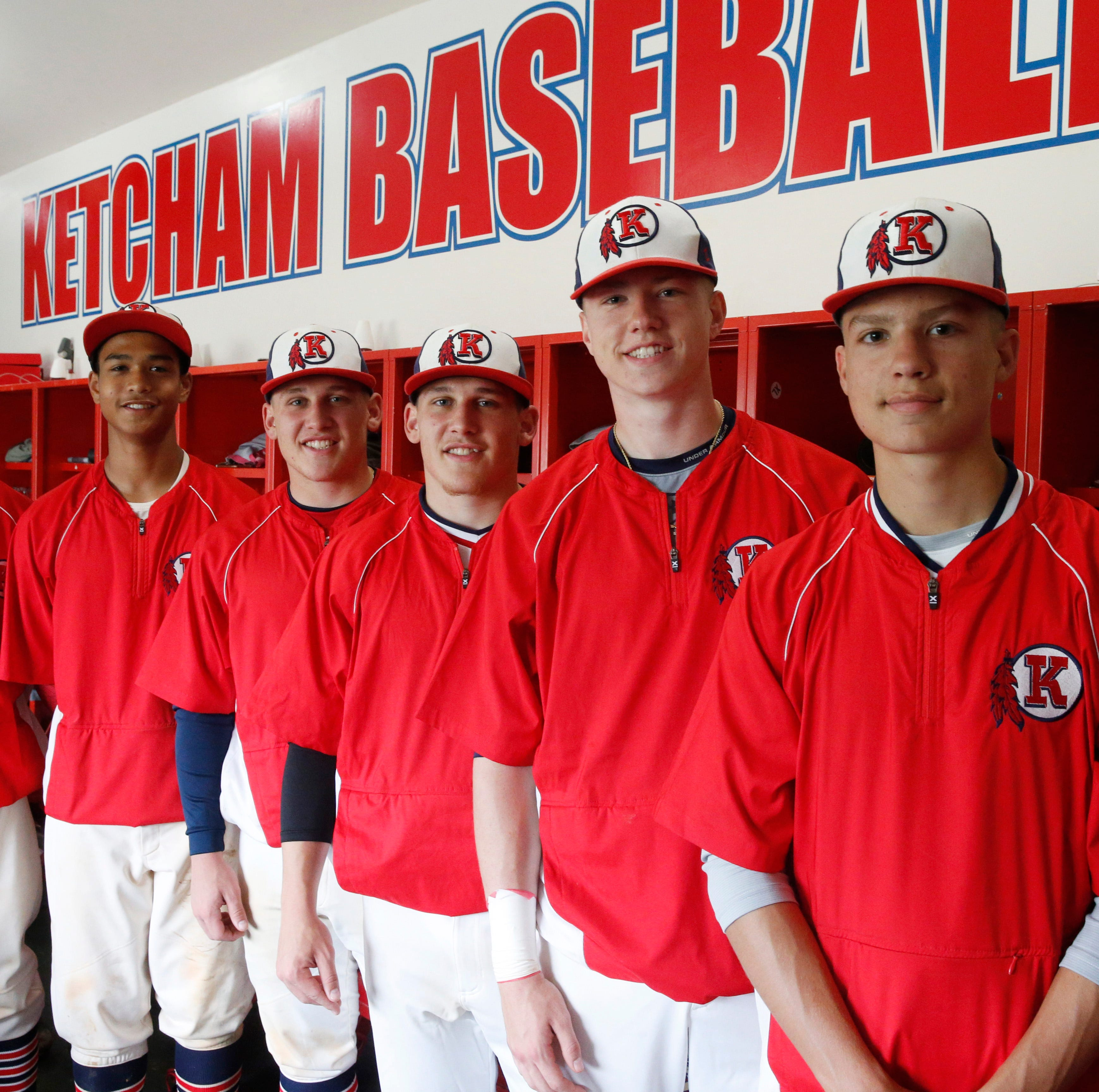 Brothers in arms: Ketcham baseball's siblings pushing each other through success