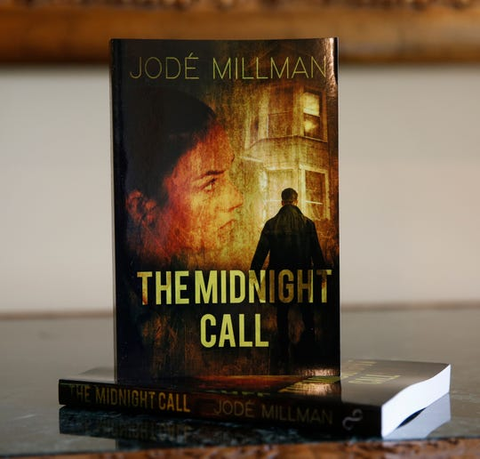 "Jode Millman's novel, ""The Midnight Call"" at her home in the City of Poughkeepsie on May 2, 2019."