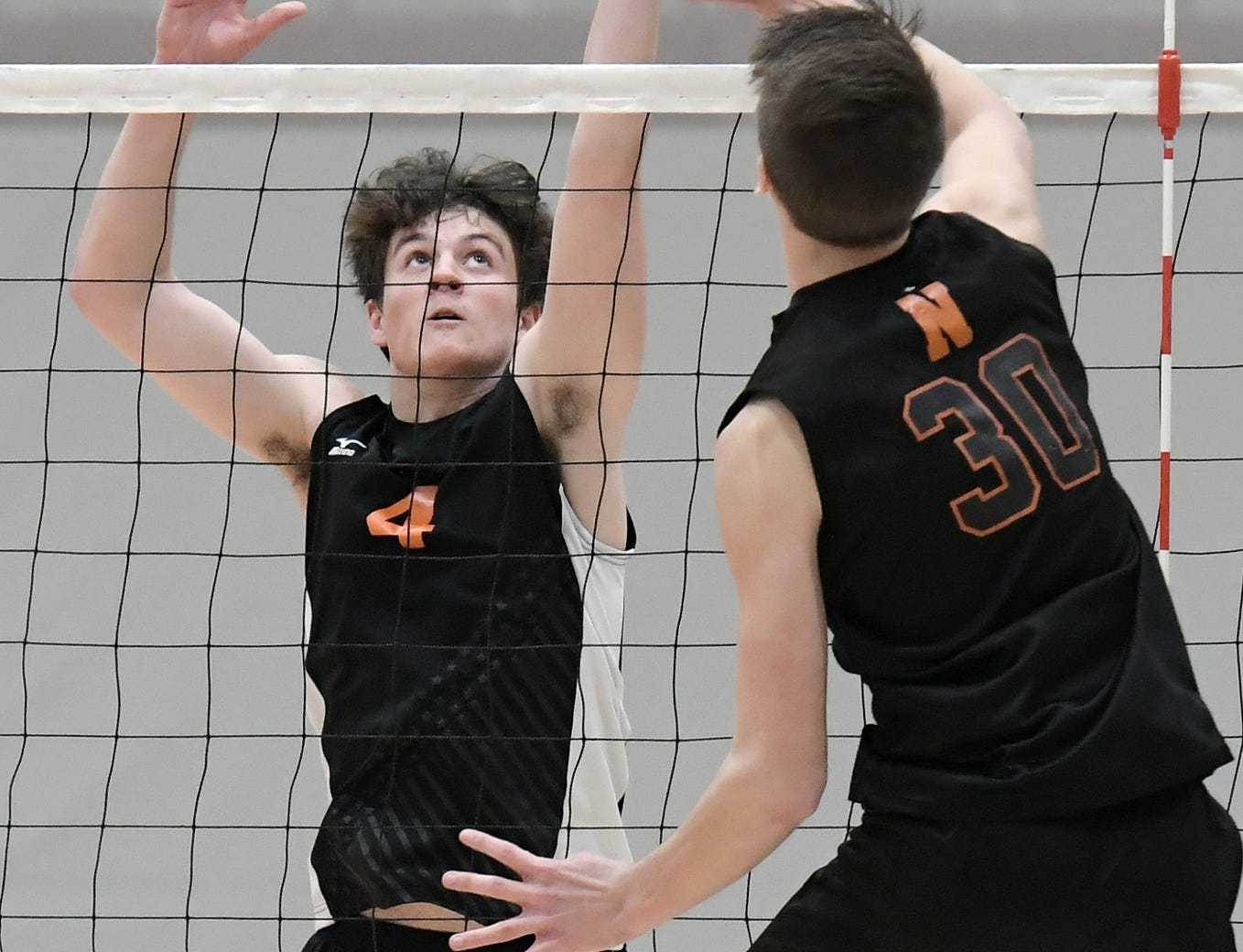 Central York falls to visiting Northeastern Tuesday, May 7, 2019. The Bobcats earned the York-Adams League regular-season title with a 3-1 win. Bill Kalina photo
