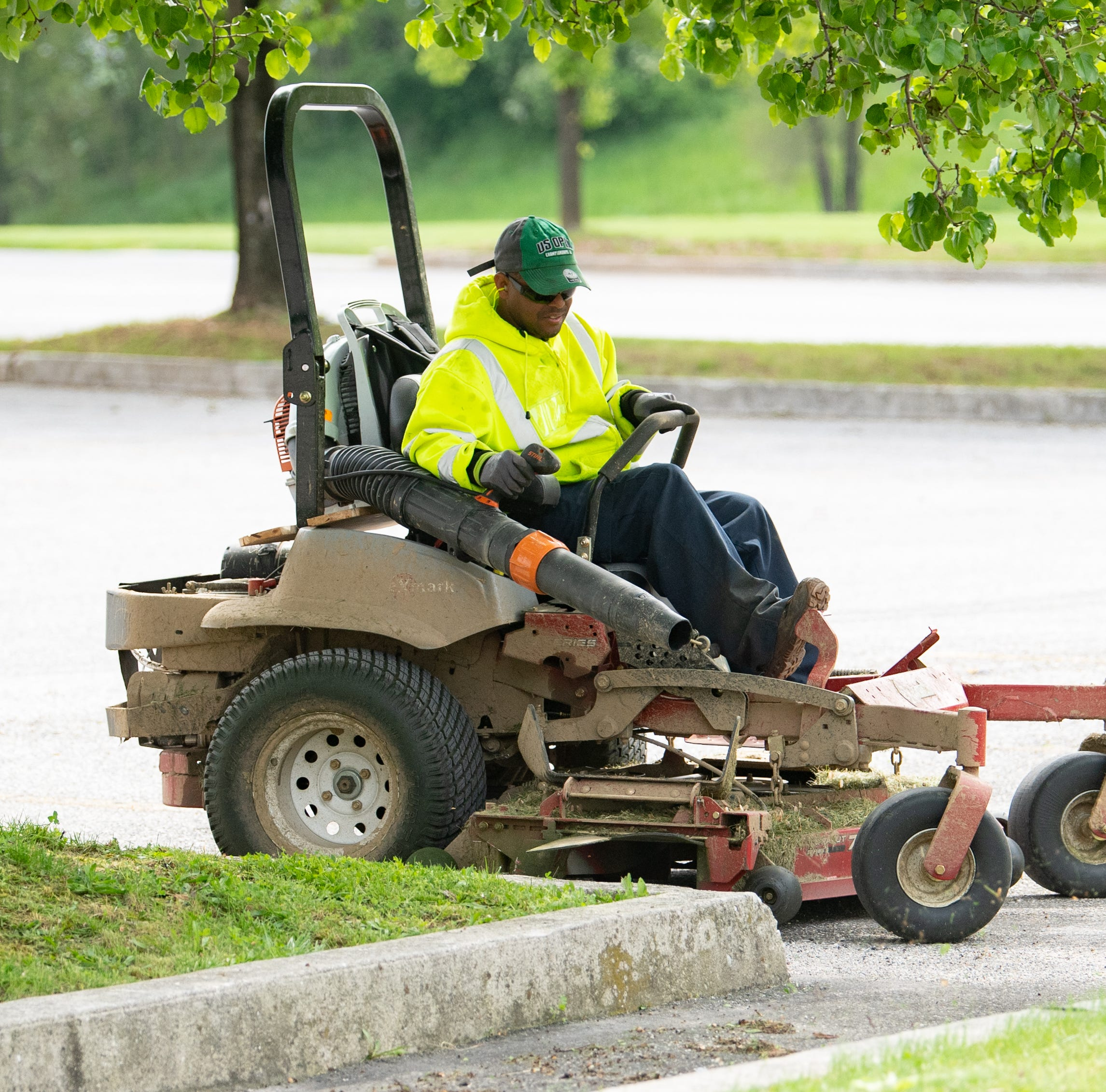 Fines for blowing grass clippings onto the road? It could happen