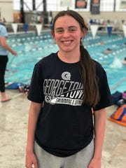 Reno senior Claire Trevithick will swim for Georgetown in the fall.