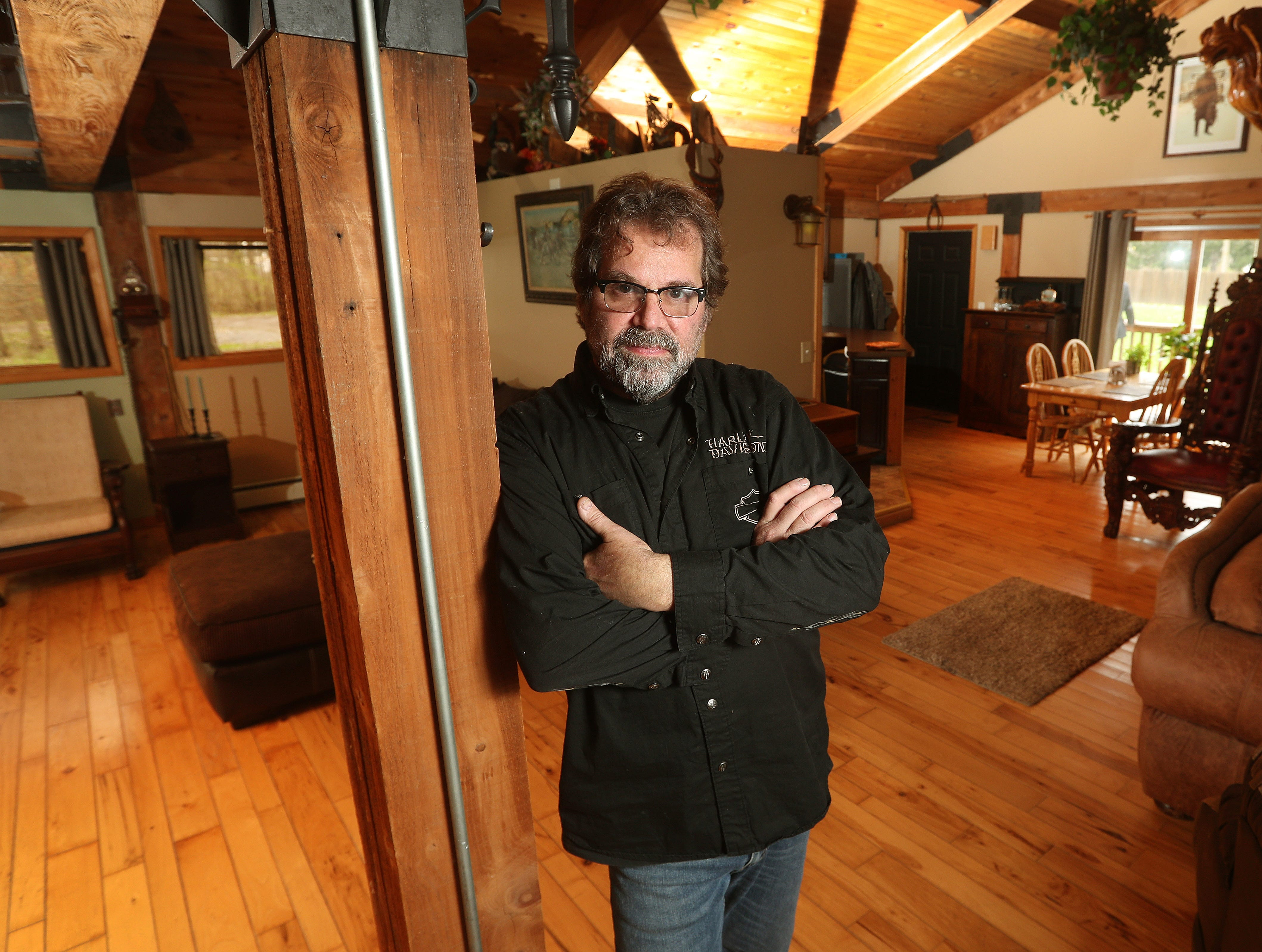 Jesse Steffan built his dream house in 1996 on 3.6 acres of land.