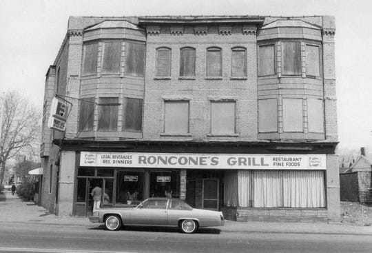 Roncone's Grill on Lyell Avenue back in 1980.   RONCONE'S GRILL, LYELL AVE.