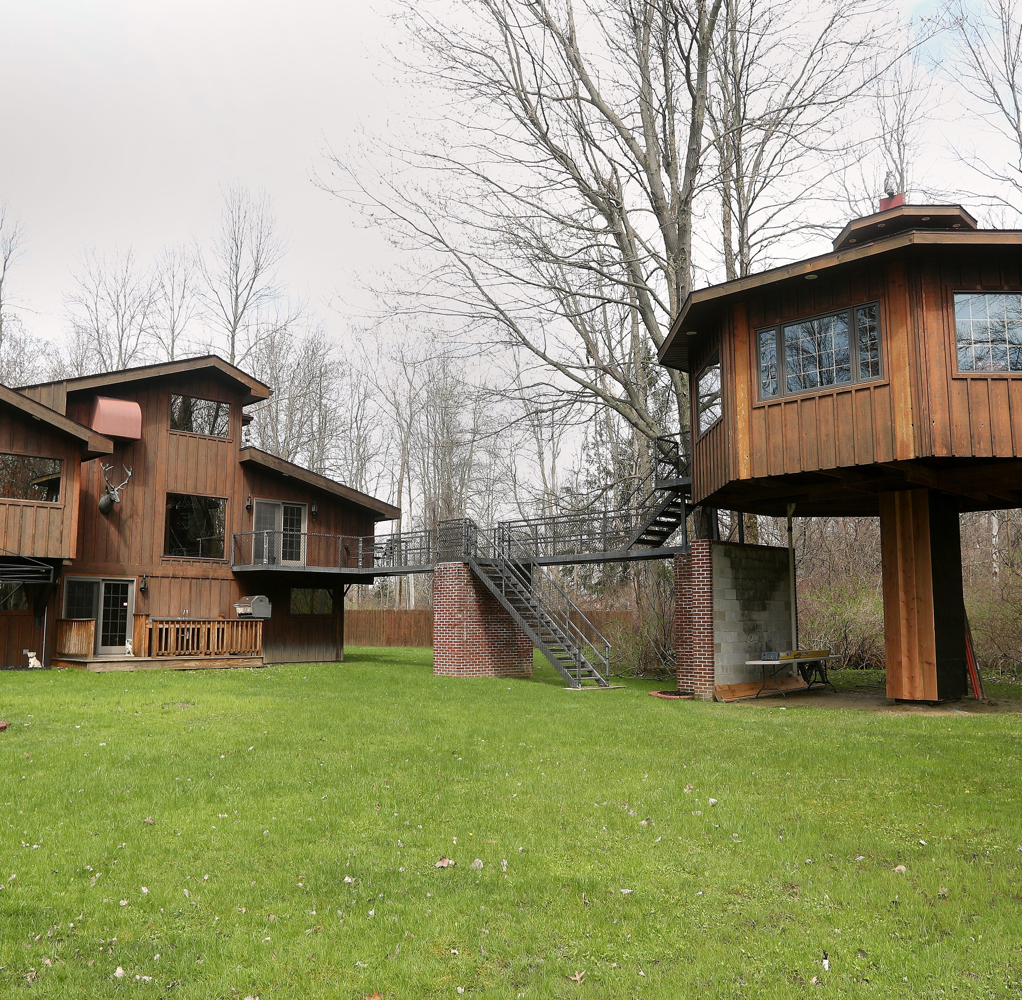A home with the ultimate tree house: name your price between $500,000 to $674,900