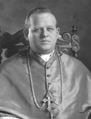 The Most Rev. Rudolph Aloysius Gerken was the first bishop of the Catholic Diocese of Amarillo in 1926.