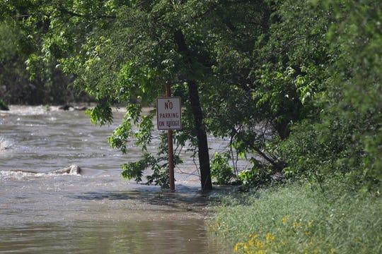 Harkey's Low Water Crossing in Mertzon, Texas, May 8, 2019.
