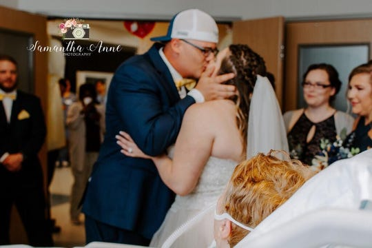 After the grandmother of the bride was rushed to the hospital, PRMC nurses planned an entire wedding in the intensive care unit.
