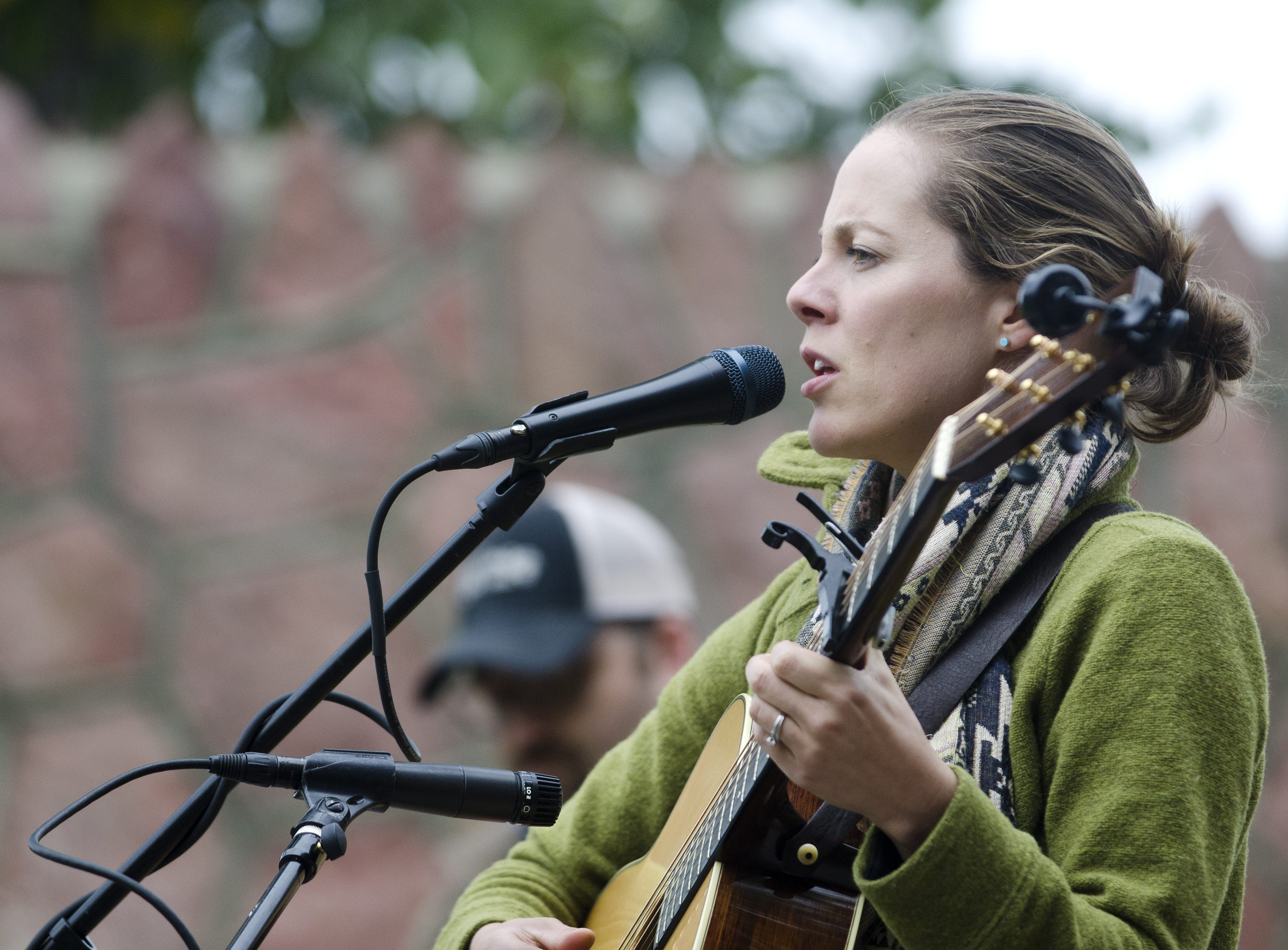 Jami Lynn performs Saturday, Sept. 16, 2017 during Rhythm at the Rapids at Dell Rapids City Park.