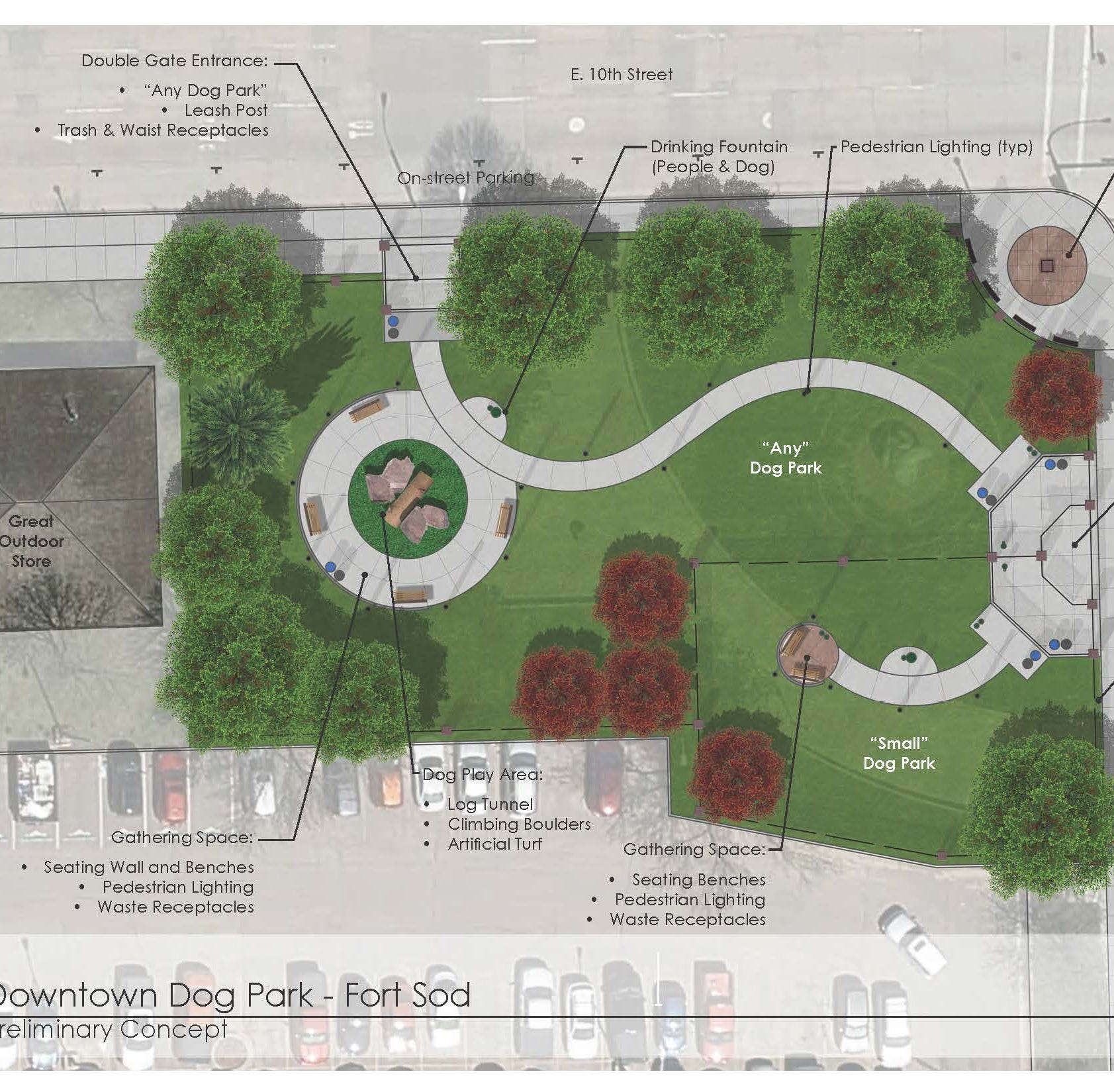 New dog park proposed for downtown Sioux Falls