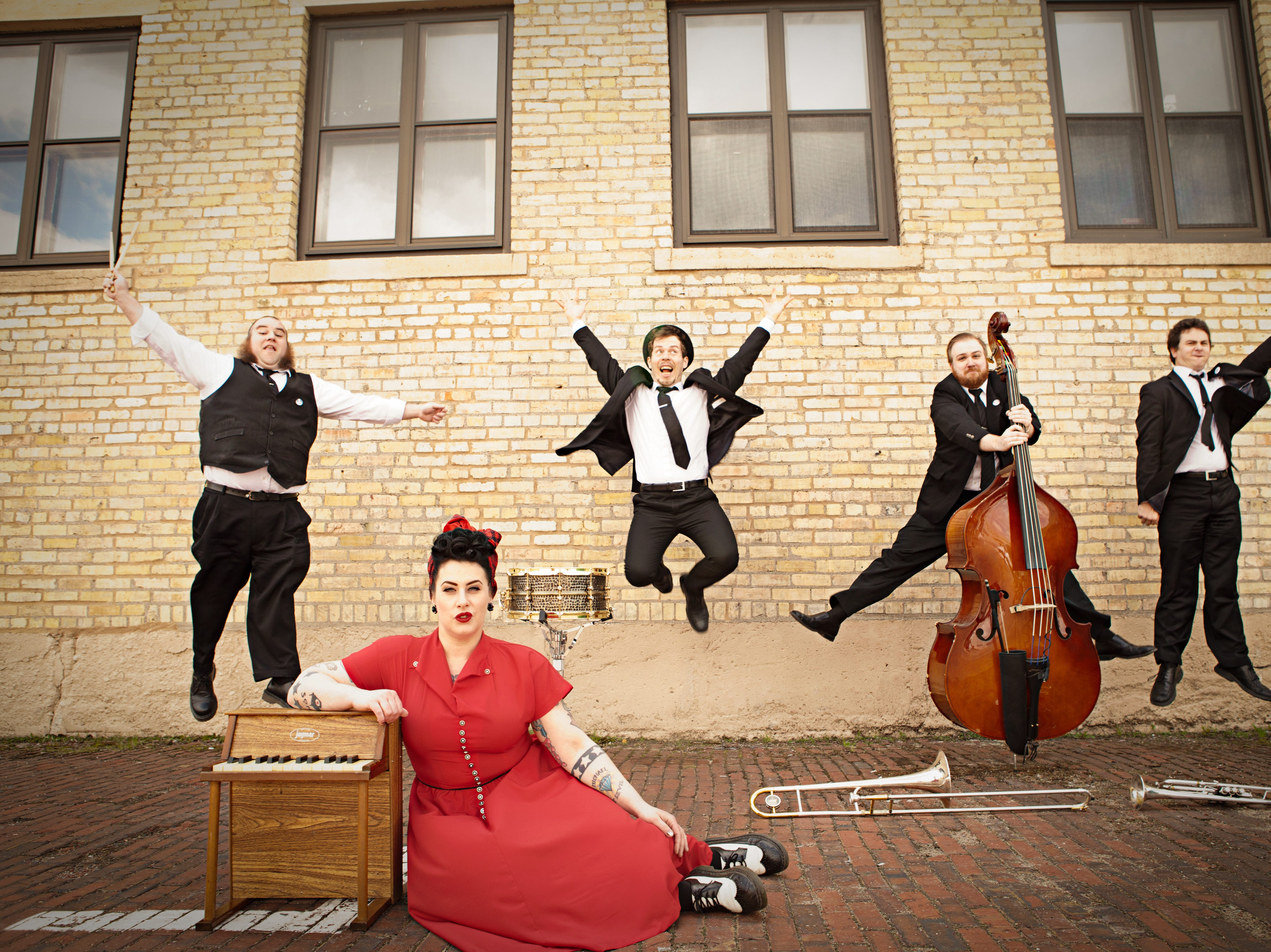 Davina and the Vagabonds vintage jazz/blues sound has earned them fans in the U.S. and Europe.