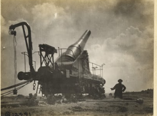 An artillery piece used by the 52nd Coastal Artillery Regiment during World War I. Joseph Nowinski found this photo in his research into Pvt. Sylvester Mushinski. Nowinski hasn't been able to find a photo of Mushinski.