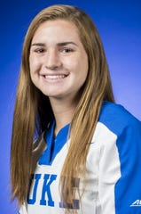 Former Chiles softball player Caroline Jacobsen is tied for Duke team lead with six home runs this season.