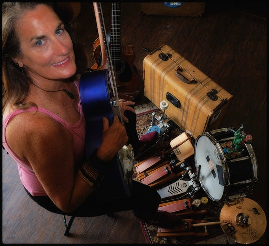 Ruth Wyand brings her one-woman blues crew to Blue Tavern on Thursday.