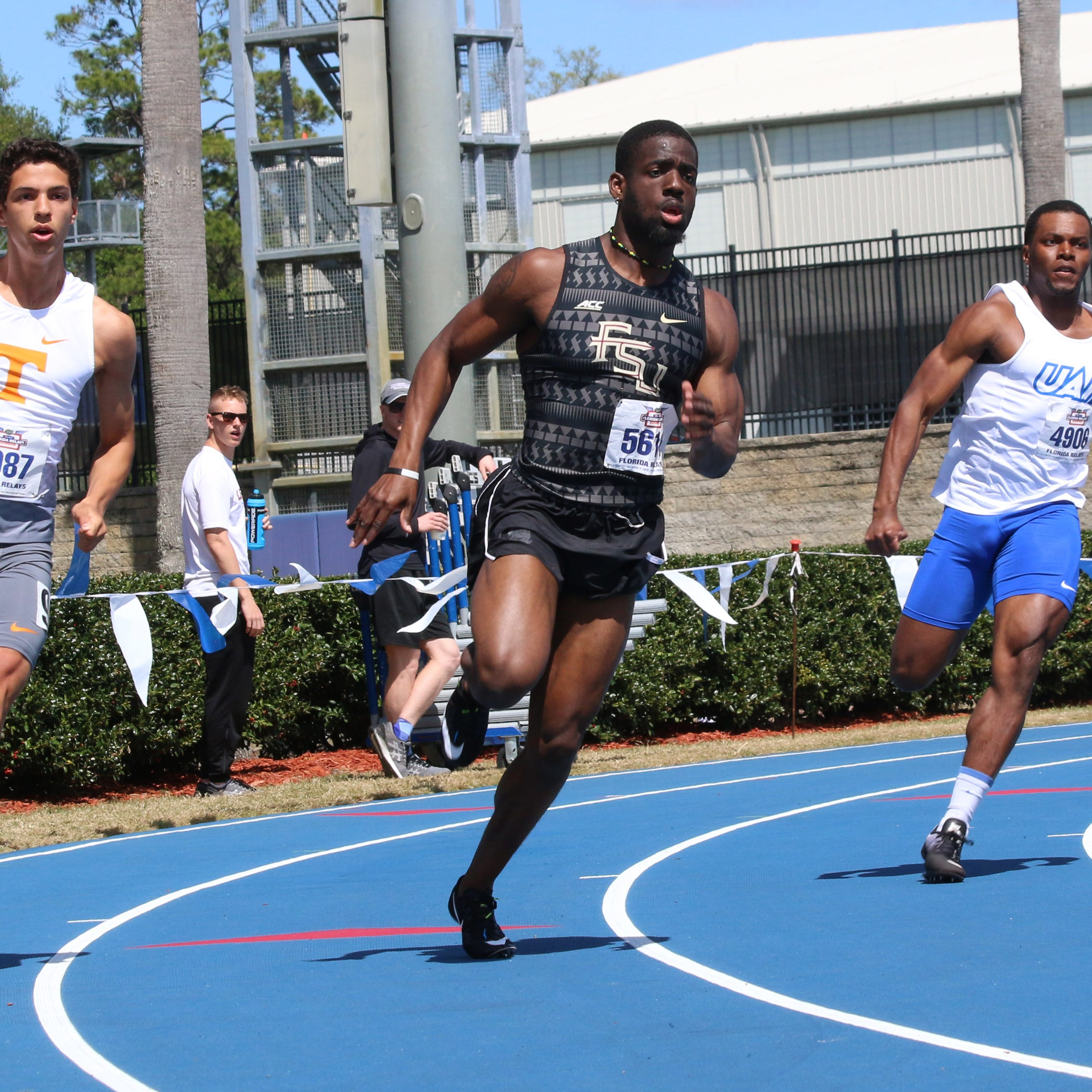 Florida State sprinter Andre Ewers runs for history in title defense at ACC Championships